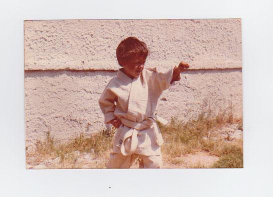Il piccolo Sascia Karate Palermo