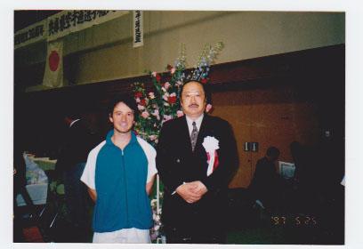 Ancora grazie al M°Fujioka Sascia nel 1997 trascorre un periodo di studio di tre mesi in Giappone sotto la guida del M°Tayama della scuola del compianto M°Ogashara. Karate Palermo