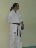 Andrea Palumbo  Musashi style Karate Palermo