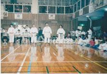 GIAPPONE 1996  Gara Kata a Squadre  Casiraghi, Palumbo, Pezzino. Karate Palermo