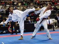 Il campione del mondo di Kumite Stefano Maniscalco Karate Palermo